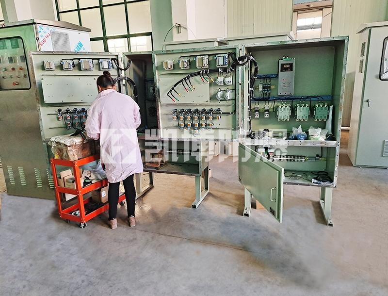 脱硝电加热器防爆配电箱