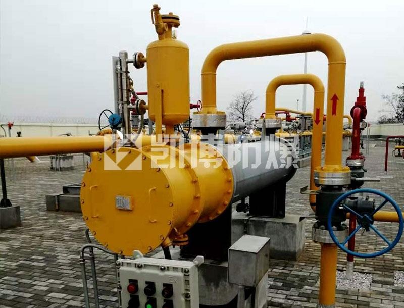 天然气电加热器