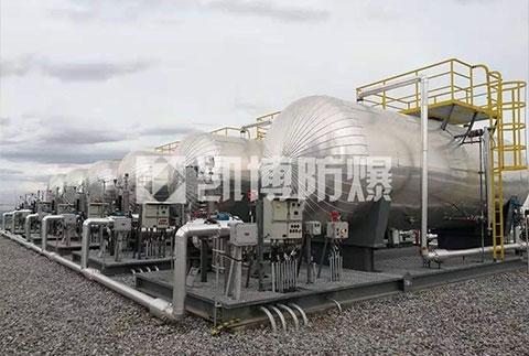 防爆空气电加热器是单头铸铜加热器?